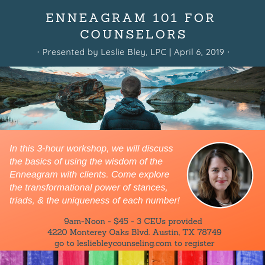 Enneagram 101 for counselors